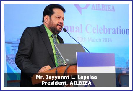 Welcome to AILBIEA - ALL INDIA LIQUID BULK IMPORTERS & EXPORTERS